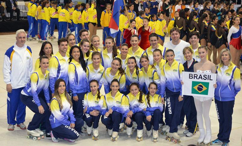 Representantes do Brasil no Desfile da Cerimônia de Abertura