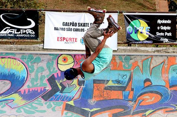 Inline Agressive nos Jogos Abertos de Anápolis 2015