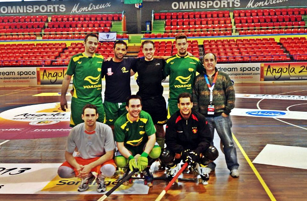 Seleção Brasileira de Hóquei Tradicional - Copa das Nações 2013 - Montreux, Suiça
