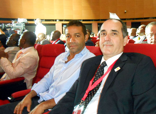 Jurandir da Silva  e Moacyr Jr