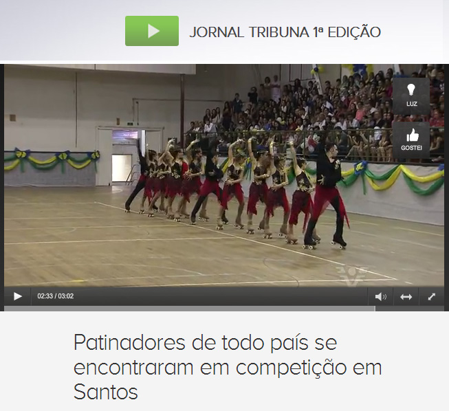 Reportagem da TV Tribuna - Globo Baixada Santista
