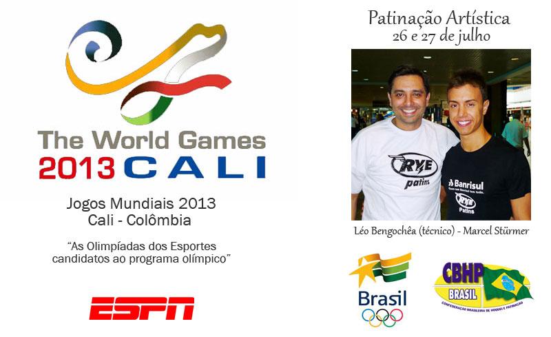 Jogos Mundiais 2013 - Cali - Colombia - Patinação Artística - Marcel Stürmer