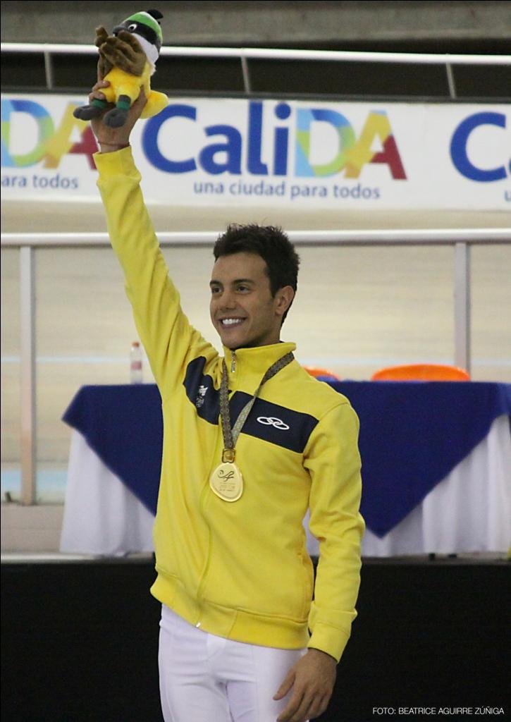Marcel Stürmer - Jogos Mundiais 2013 - Cali, Colômbia - Medalha de Ouro