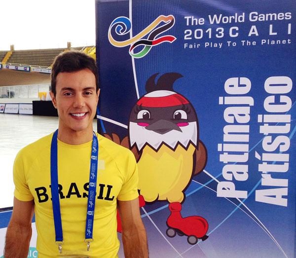 Marcel Stürmer - Jogos Mundiais 2013 - Cali , Colômbia