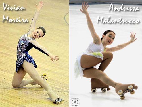 Vivian Moreira & Andressa Malantrucco - Brasil - Medalhistas Internacionais