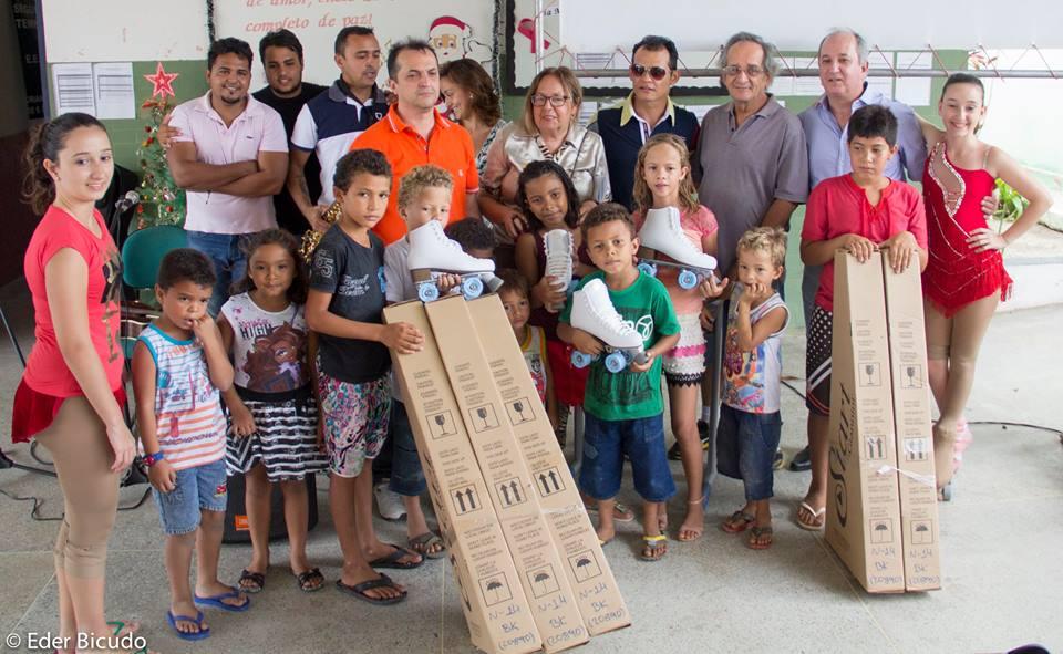 Projeto Social conta com o apoio da RYE Patins