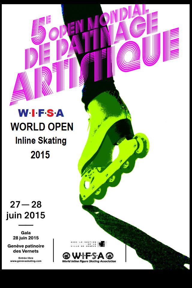 Open de Patinação Artística Inline WIFSA 2015 - 27 a 28 de Junho