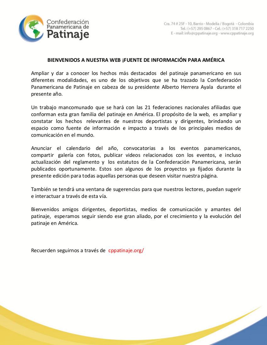 Boletin panamericana web