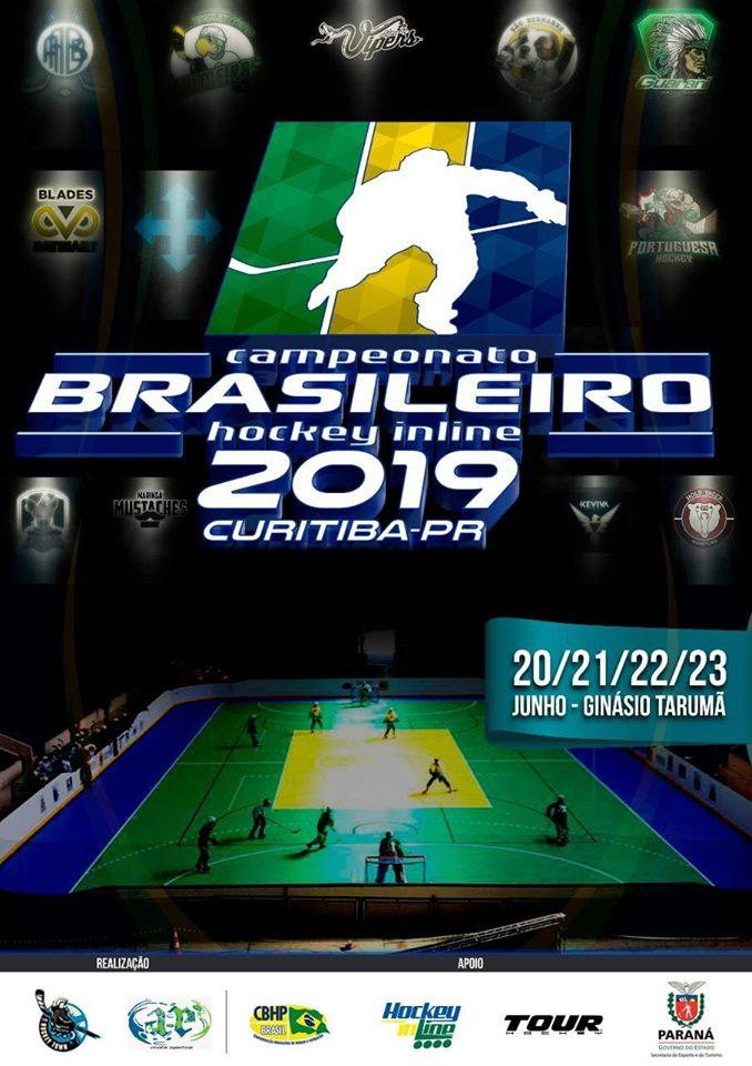 Campeonato Brasileiro de Hockey Inline 2019 - Curitiba, PR